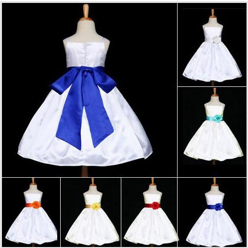 Blue formal dress for a wedding - Vestidos Para Ni 241 As Color Turquesa Imagui