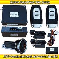 Smart car alarm system,long push button start,passive keyless entry ,smart key,bypass module,morse decorder,remote starter