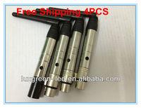 DHL/fedex Good Quality 2.4G Wireless DMX512 Transmitter & Receiver wireless DMX Console DMX Kit   1 Transmitter + 4 Receivers