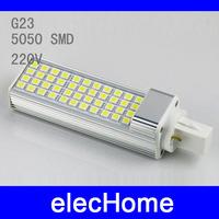 E27 G23 9W 5050 SMD 44 leds LED Corn Light Bulb Lamp Warm White /White AC 210V-240V 220V 230 240V Free Shippig