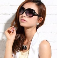 FREE SHIPPING new women's dir9 fashion vintage big box sunglasses color