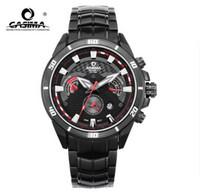 2014 real seconds casima stainless steel waterproof sports watch 8201 men wristwatches complete calendar shock resistant