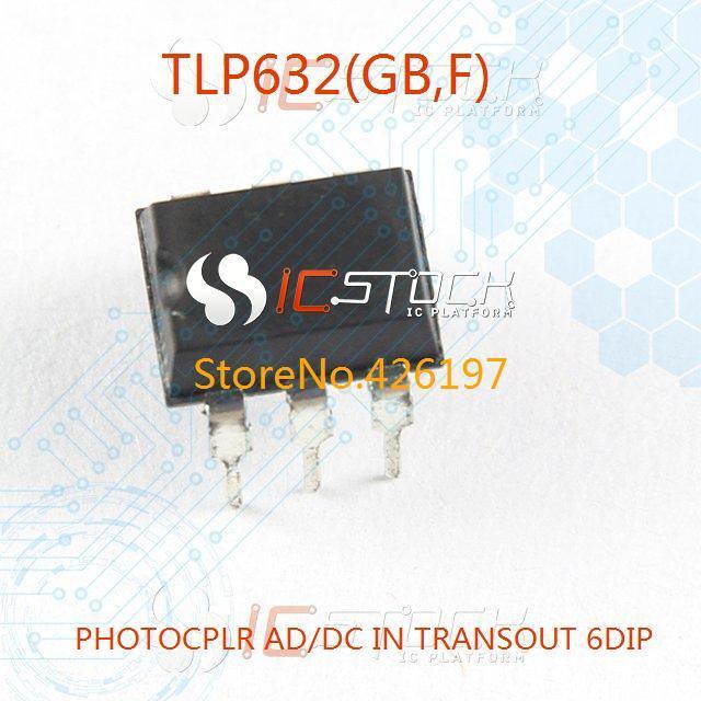 TLP632(GB-F) PHOTOCPLR AD/DC IN TRANSOUT 6DIP TLP632(GB 632 632( 3pcs(China (Mainland))