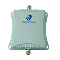 70dB Dual Band 900/2100MHz GSM WCDMA UMTS 3G Mobile Phone Signal Booster Repeater Amplifier