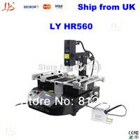 FREE TAX Latest HR and IR bga rework station, LY HR560 welding machine, ,high quality bga repair system,bga repair tool