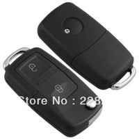 Entry Key Remote Fob Shell Case 2 Button   for Volkswagen VW Polo Golf