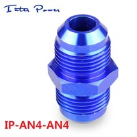 Hot Sale! aluminum Oil cooler Hose Fitting MP-AN4-AN4  Blue