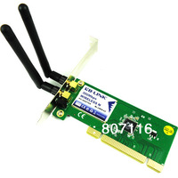 PCI 300Mbps 300M 802.11b/g/n Wireless WiFi Card Adapter for Desktop PC Laptop 121