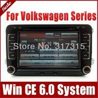 Car DVD Player for VW Volkswagen Caddy EOS Golf Jetta Passat w/ GPS Navigation Stereo Radio Bluetooth TV USB AUX Map Audio Video