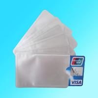 100pcs RFID Credit Card Protector RFID blocking Aluminium sleeve card cover