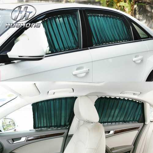Car roller window curtain SunShades Sun block products accessory,suitable for Kia Rio K2 2009-2013(China (Mainland))