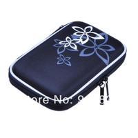 Black Multi-function Hard Case Digital Camera/mobile harddisk Bag Cover Pouch