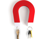 U-Shaped Wall Mounted Key Magnet in Various Colors,Key Holder