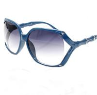 New arrival big box cutout bamboo sunglasses fashion women's fashion anti-uv sunglasses glasses