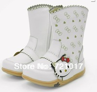 2012 winter children shoes kittky cat female child boots princess boots snow boots
