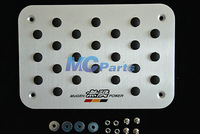 Floor Carpet Mat pedal Pad Plate For Honda mugen CR-V Accord Civic NSX odyssey