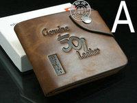 HOT! Mens Leather Wallet Pockets Card Clutch Cente Bifold Purse W1248