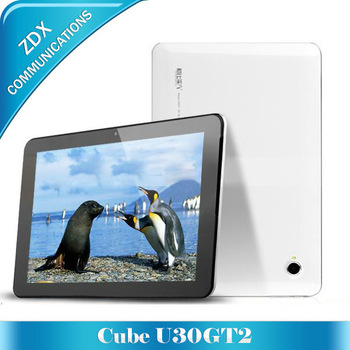 "10.1"" Android 4.1 RK3188 Quad Core 1.8Ghz 16GB/32GB 1920x1200 pixels FHD IPS Retina Capacitive Screen Cube U30GT2 with Bluetooth"