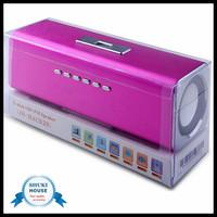 Music Portable mini speaker wireless speaker stereo FM USB Disk Speaker with Micro SD TF MAUK2