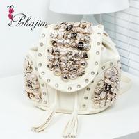 Sales promotion! Bags  button bag vintage fashion   handbag women's handbag  free shipping