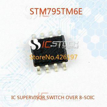 STM795TM6E IC SUPERVISOR SWITCH OVER 8-SOIC 795 STM795 3pcs