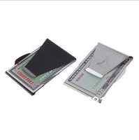 Stainless Steel Money Clip Credit Card holder Wallet