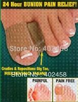 Wholesale 3pairs/lot  free shipping retail 100% Gel-cap for Digital Gel foot care Separator toe good quality
