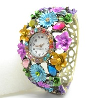 ToMoNo Trendy Bohemian Bracelet Fashion Alloy Ladies Bracelet Watch