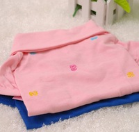 nice quality cute pink/blue pets dog / cat polo T shirt summer clothing cooler short sleeve garment