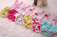 nice quality cute pets dog / cat clothing apparel braces for female pets pants