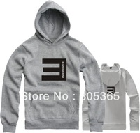 Free Shipping Hot Sale Lovers Sweatshirt  men's Eminem The E Thickening Fleece outerwear Hiphop Hoodies sweatshirts