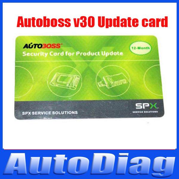 Super original Autoboss v30 update card for V30 auto scanner(China (Mainland))