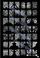 XL Medium SizeNail Art Stamp Stamping Image Template Plate -M
