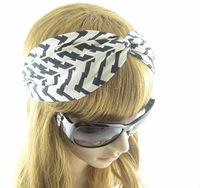 Fashion Westem Style  Woman's Accessories Headwear Striped Kink Headbands