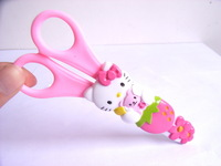 Hello kitty Scissor in Ruler cover stationery Pink bag