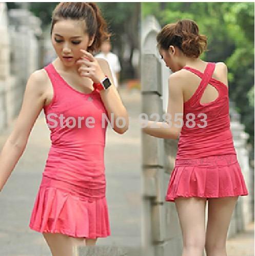 Sport Suit Women Jogging Suit For Women Tennis Suit For Women Two Piece(China (Mainland))