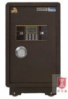 Safe Box For Home Office Hotel Hidden Wall Safe Cabinet Depository Cash Money Jewelry Gun Floor Security MD-650Brown