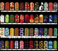 HOT!!! 2013 New Arrivals T2-1 to T2-120 , 120 styles 40pcs/lot, nail art sticker water decals,Nail foil sticker ,free shipping