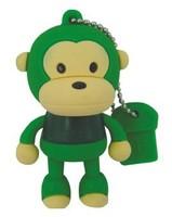 usb pendrives for promotional gift  cartoon Monkey USB flash memory
