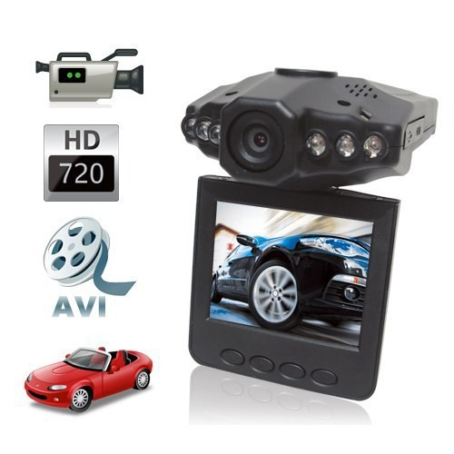 New MIni Audio Recorder 2.5 inch HD LCD 6 IR LED Car DVR Video Rotatable Camera Camcorder(China (Mainland))