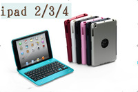 KM3-Rechargeable  wireless Bluetooth Keyboard for IPad2/3/4, IOS system,free shipping russian keyboard