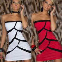 5 Colors Fashion Sleeveless Mini Dress Sexy Dress Club Good Quality Summer Dress Free Shipping