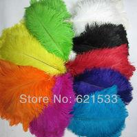 Fashion Wedding 50PCS Mix OSTRICH FEATHERS 40-45cm/ 16-18Inch Long  FREESHIPPING