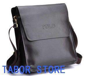 luxurious Men's fashion leisure leather business one shoulder inclined shoulder bag, men bag