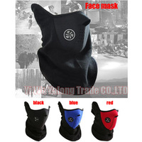 Most cheap Ski Snowboard bicycle Motorbike half face mask winter wammer mask helmet Neck Warmmer outdoor sports free shipping