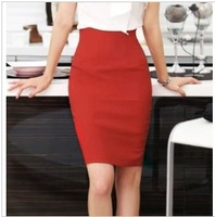 Hot ! Korean Version Candy-Color Package Hip SlimSkirts Occupation/Women's Clothing/Special Offer