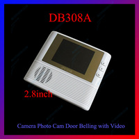 2.8 inch DB308A door viewer LCD High Definition Color Screen Digital Peephole Door Viewer camera +take photo+video record