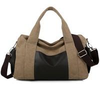 2015 NEW Brand Fashion Korean Style Men's Canvas Handbags Popular One Shoulder Bags Casual Travel Messenger Bag Free Shipping