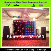 wholesale free shipping s led video curtain stage backdrop