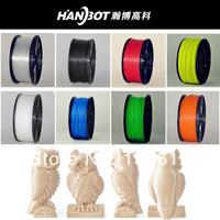 3D printer ABS PlA filaments 1kg spool plastic ,16rolls/PCS,accept mixed wholesale,low price